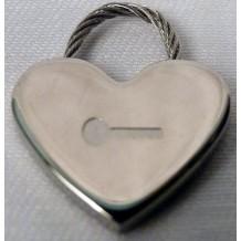 Pendentif coeur gravé