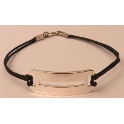 Bracelet gravé en Argent