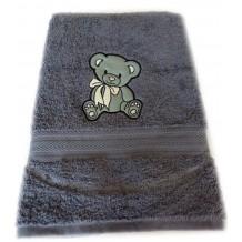 serviette de bain personnalis cadeau anniversaire petit cadeau pas cher. Black Bedroom Furniture Sets. Home Design Ideas