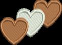 Coeur marron
