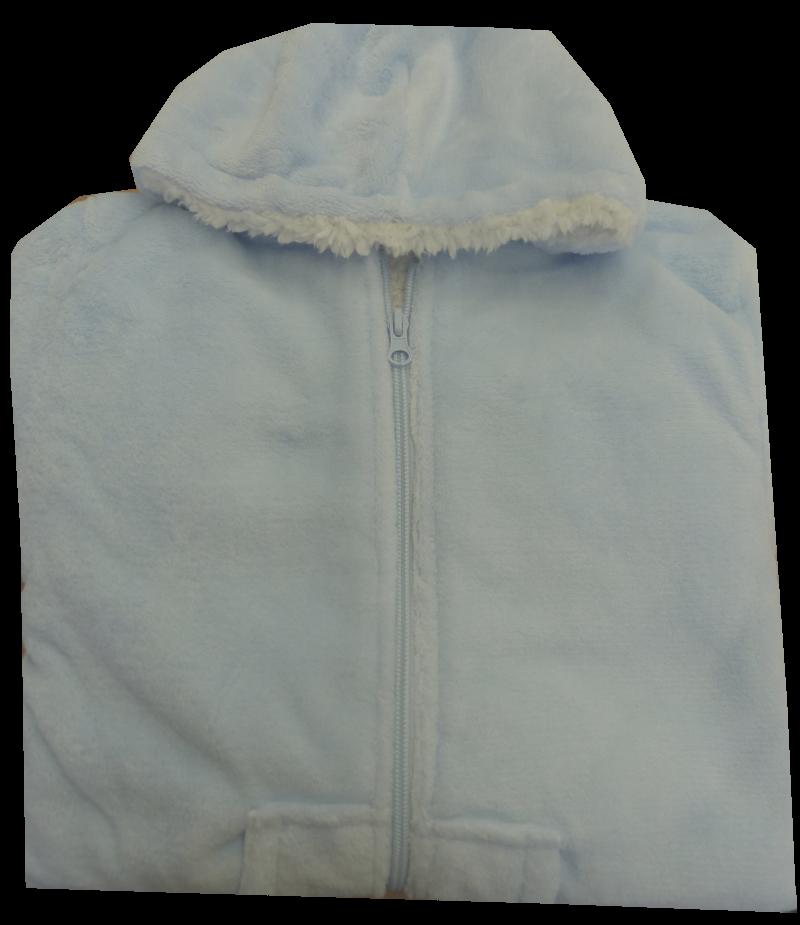 Polaire bleu clair - 4 ans